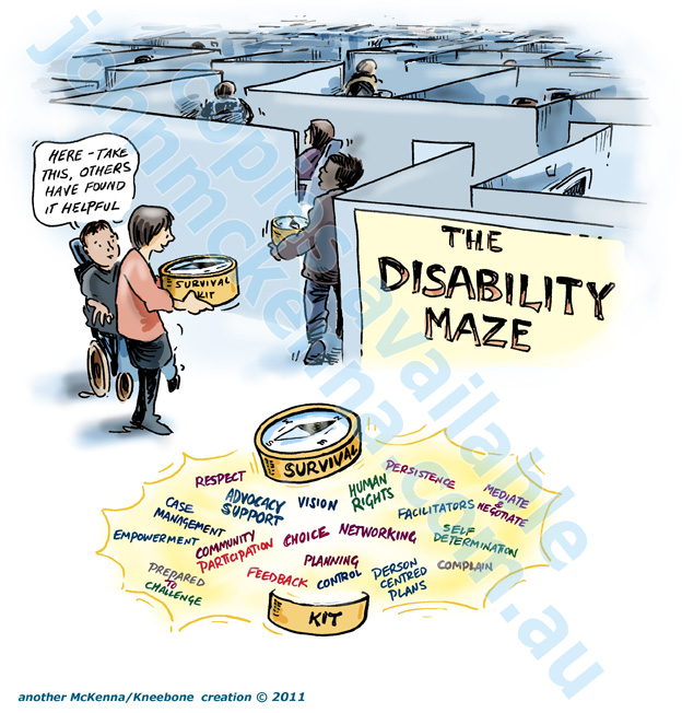 Take this before you tackle the Disability Maze