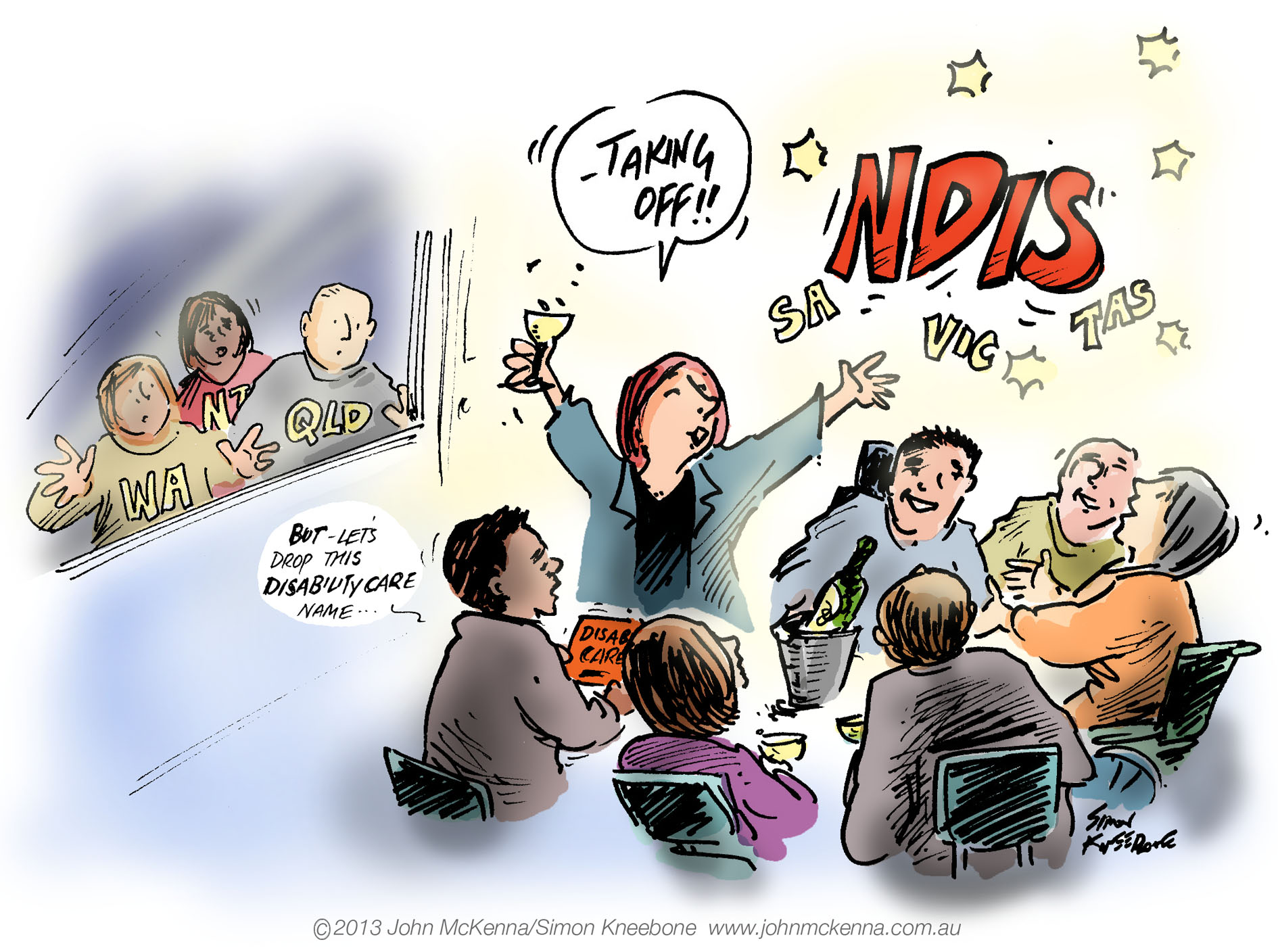 NDIS taking off pic